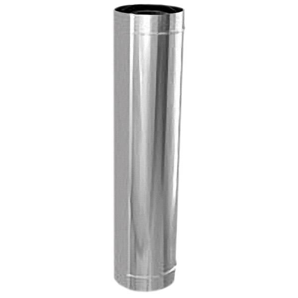 Труба 100 L=1 м без изоляции