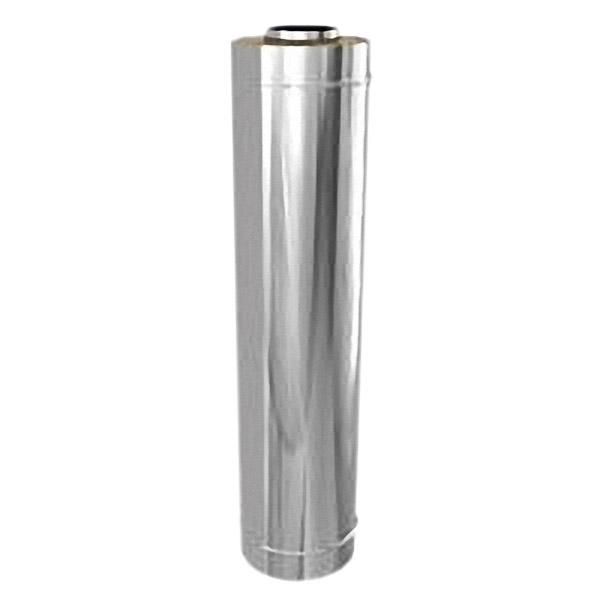 Труба 100/180 L=0,5 м с изоляцией