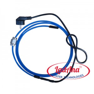 Саморегулирующийся нагревательный кабель LadAna 10 MSR-PF (готовый комплект 8м)