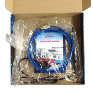 Саморегулирующийся нагревательный кабель LadAna 10 MSR-PF (готовый комплект 9м)
