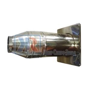 Комплект дымовых труб 100/180